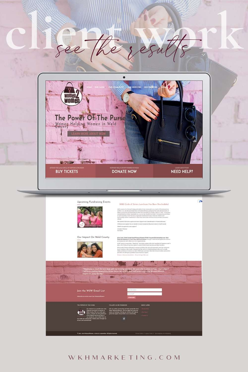 NonProfit Web Design Greeley Colorado